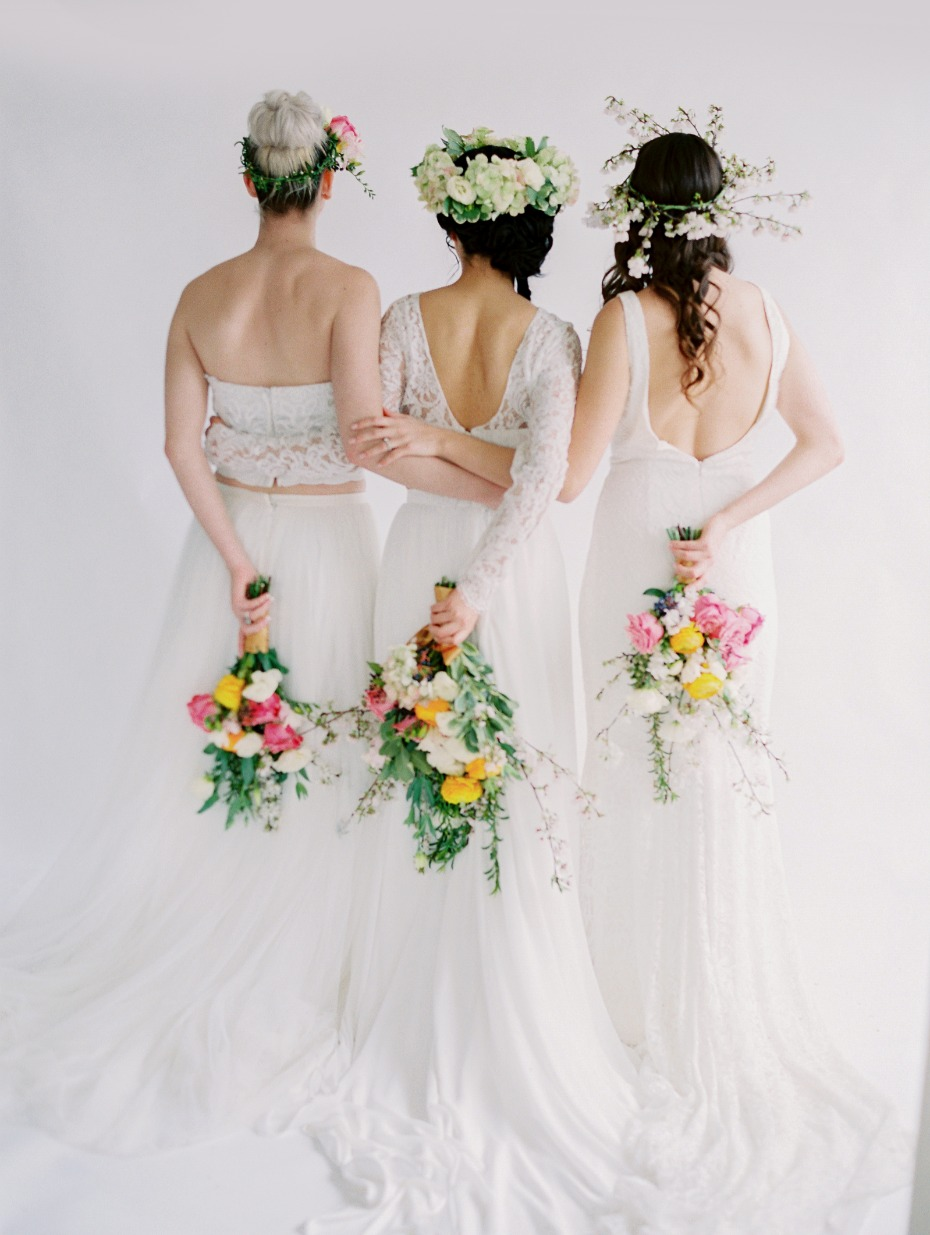 Lovely spring bridal inspriation