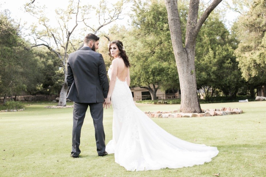 Low back Maggie Sottero gown