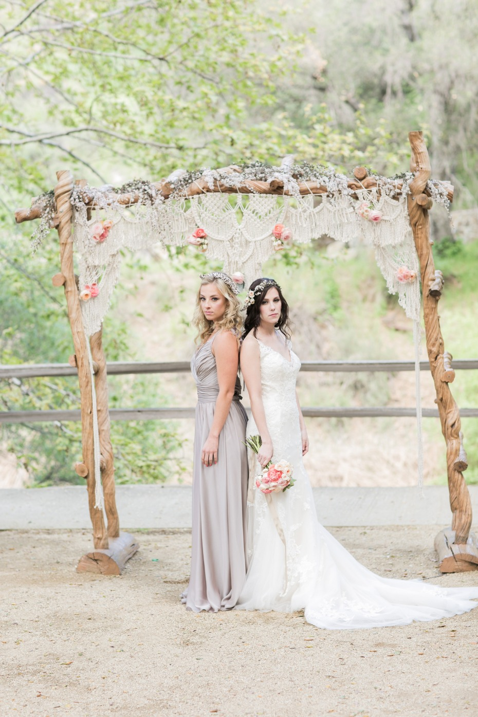 Boho romance wedding ideas