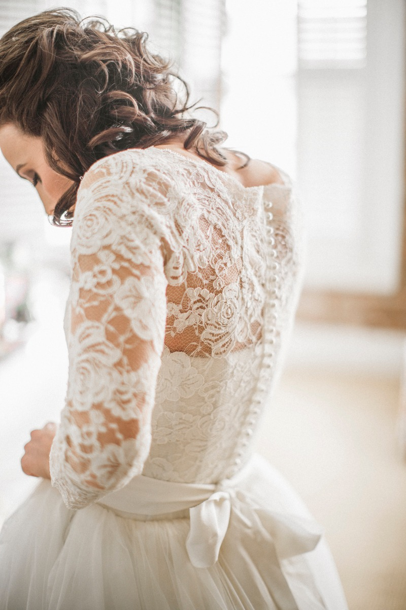 Elegant Bridal Lace Top , pure adition to your wedding dress