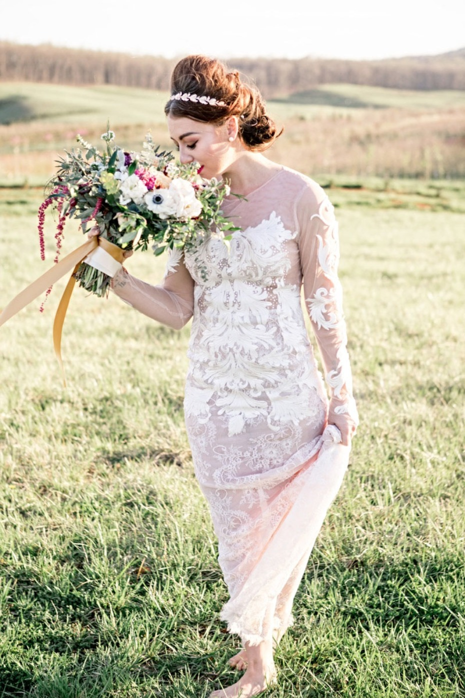 Couture gown from Sheri Autry Couture