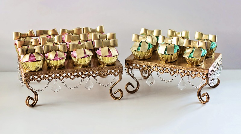 Decadent Dessert Tables! Opulent Treasures offers dessert stands to style your irresistible desserts!