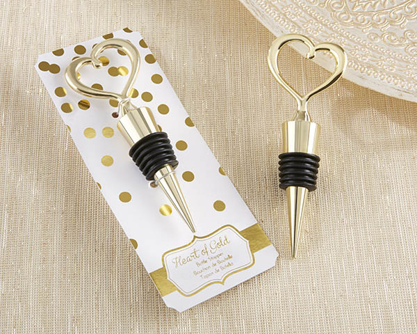 💕 Marriage signifies when two hearts become intertwined, so show your guests your one heart with this bottle stopper