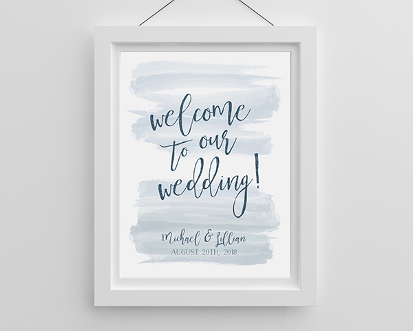 ⚓ A great nautical wedding decor piece is only a wedding sign away.