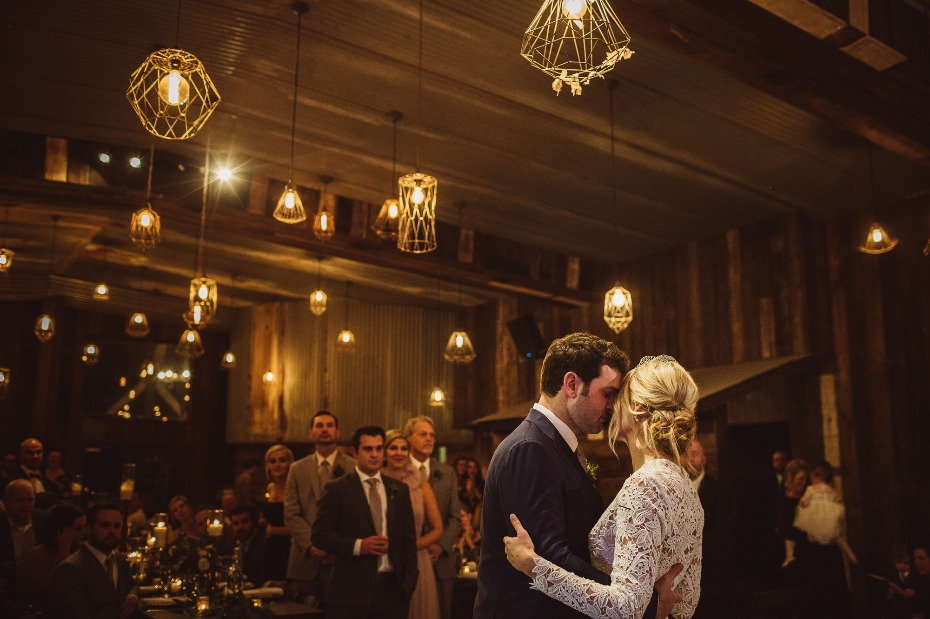 Romantic first dance captured by Mercedes Morgan Photography