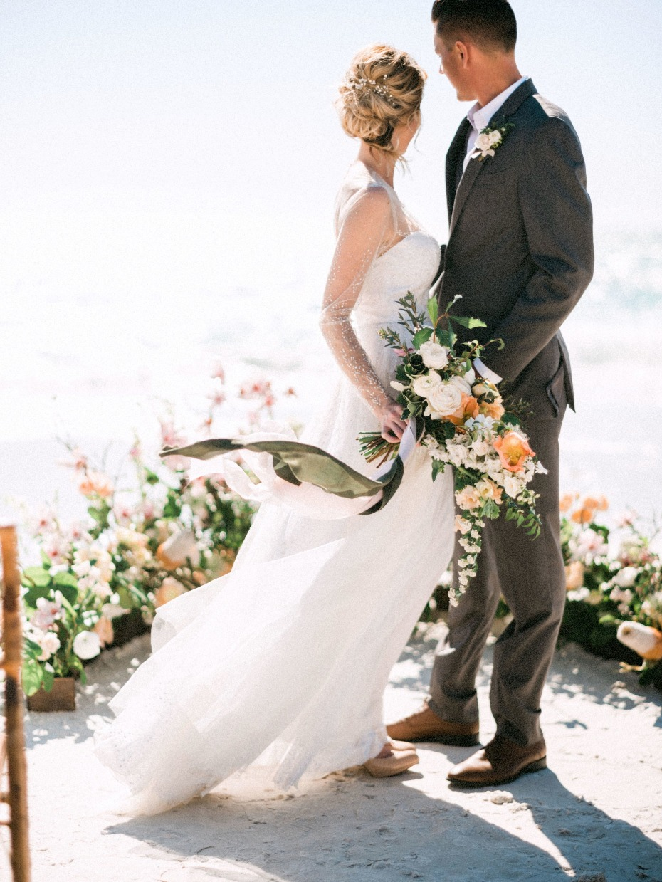 Get married right on the beach