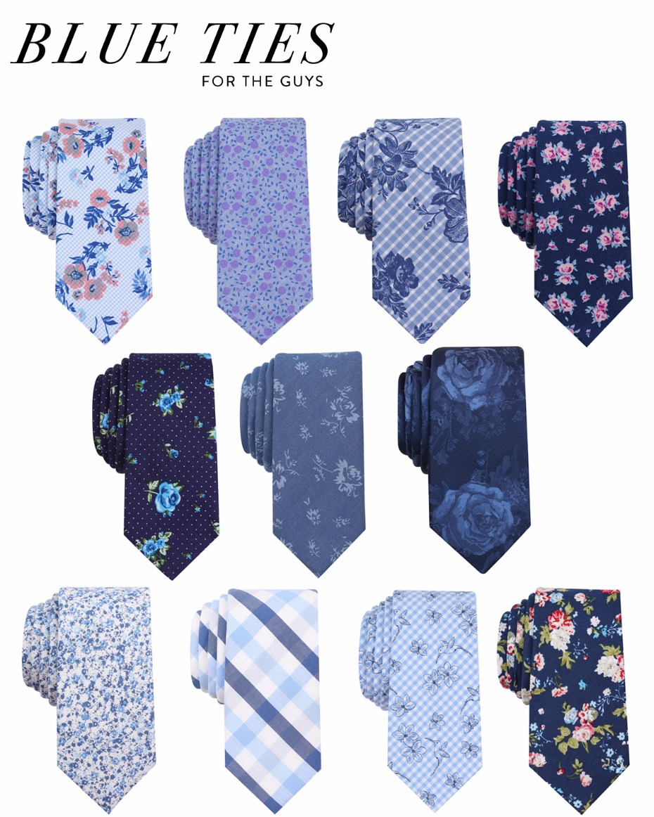 super stylish blue ties for the guys