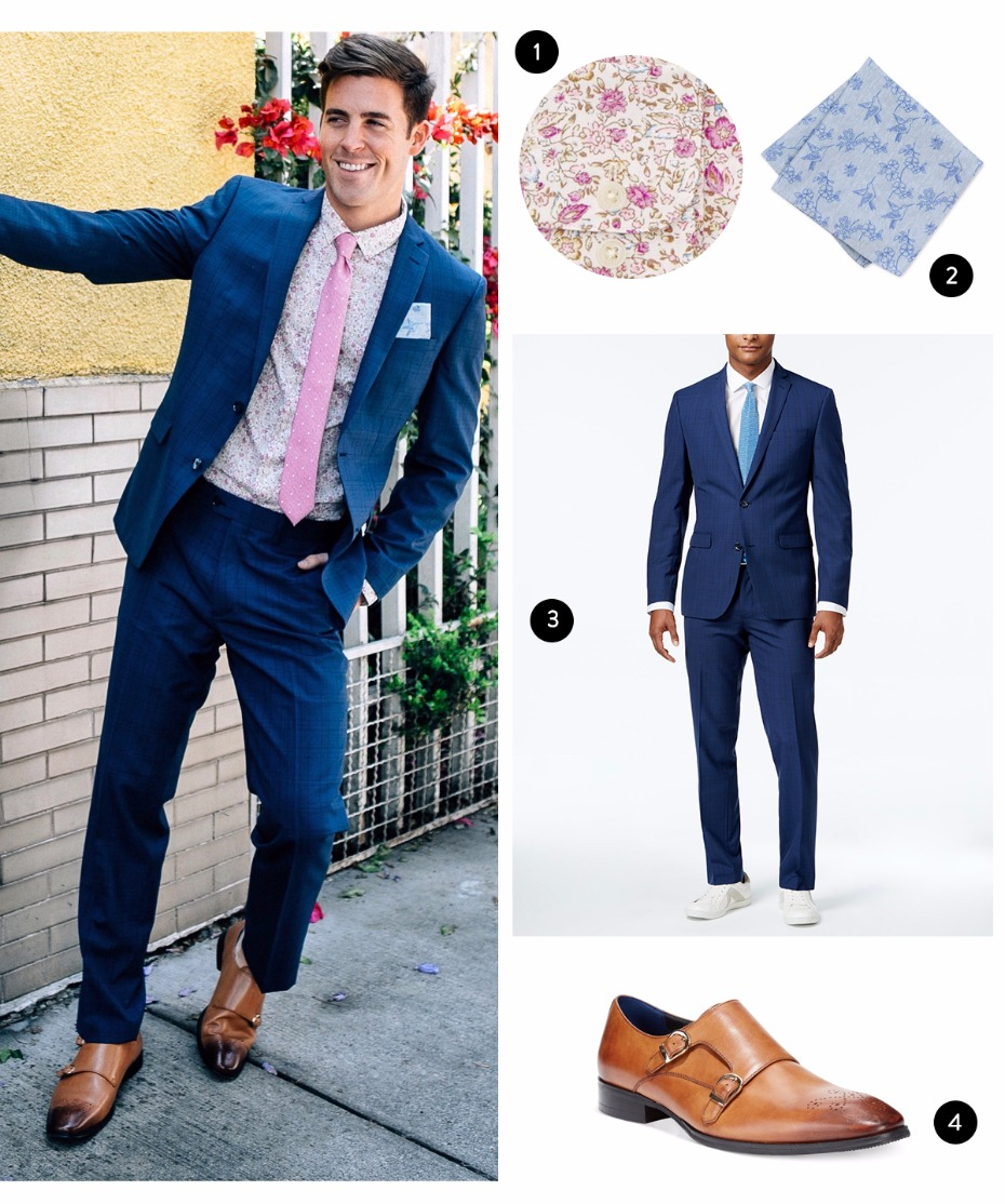 spring wedding look for guys