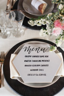 Wind Down With These White And Rose Gold Winery Wedding Ideas