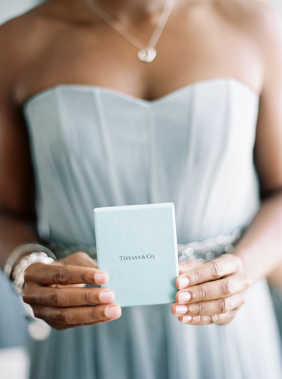 Tiffany & Co gift for bridesmaids