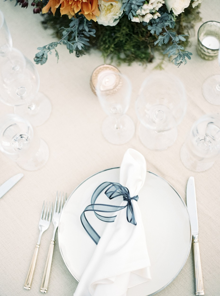 Keep your placesetting simple