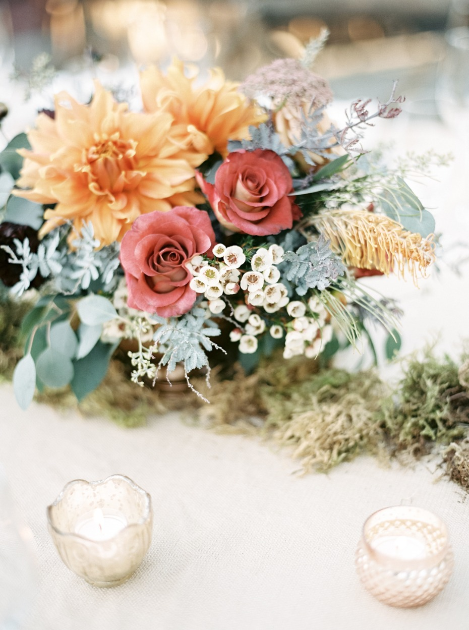 Floral centerpiece idea