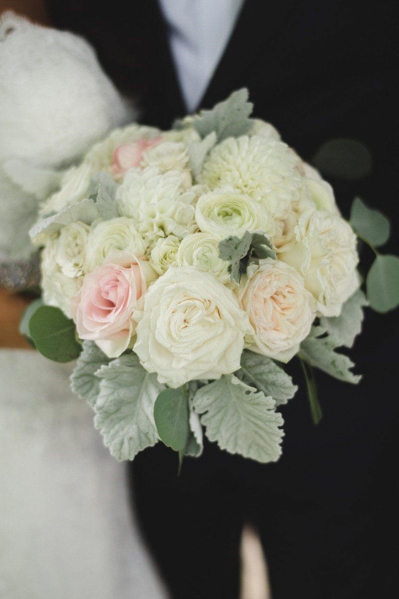 Full lush summer bouquet with the magical blush, white and ivory combo. Florals by Dandie Andie Floral Designs