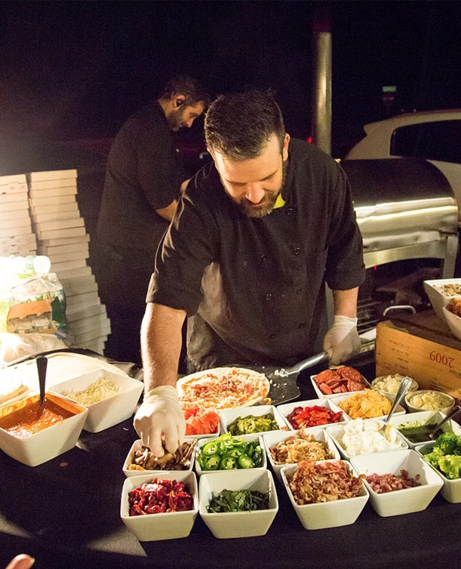 top 12 food stations for your wedding