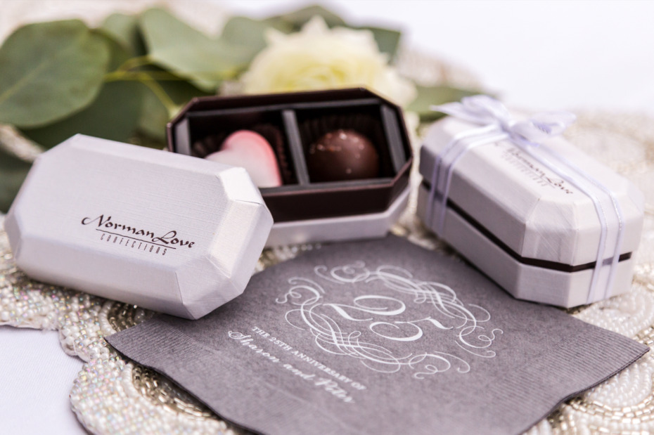Norman Love Confections custom made chocolates