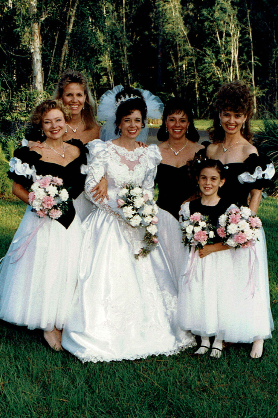 bridal party 25 years later