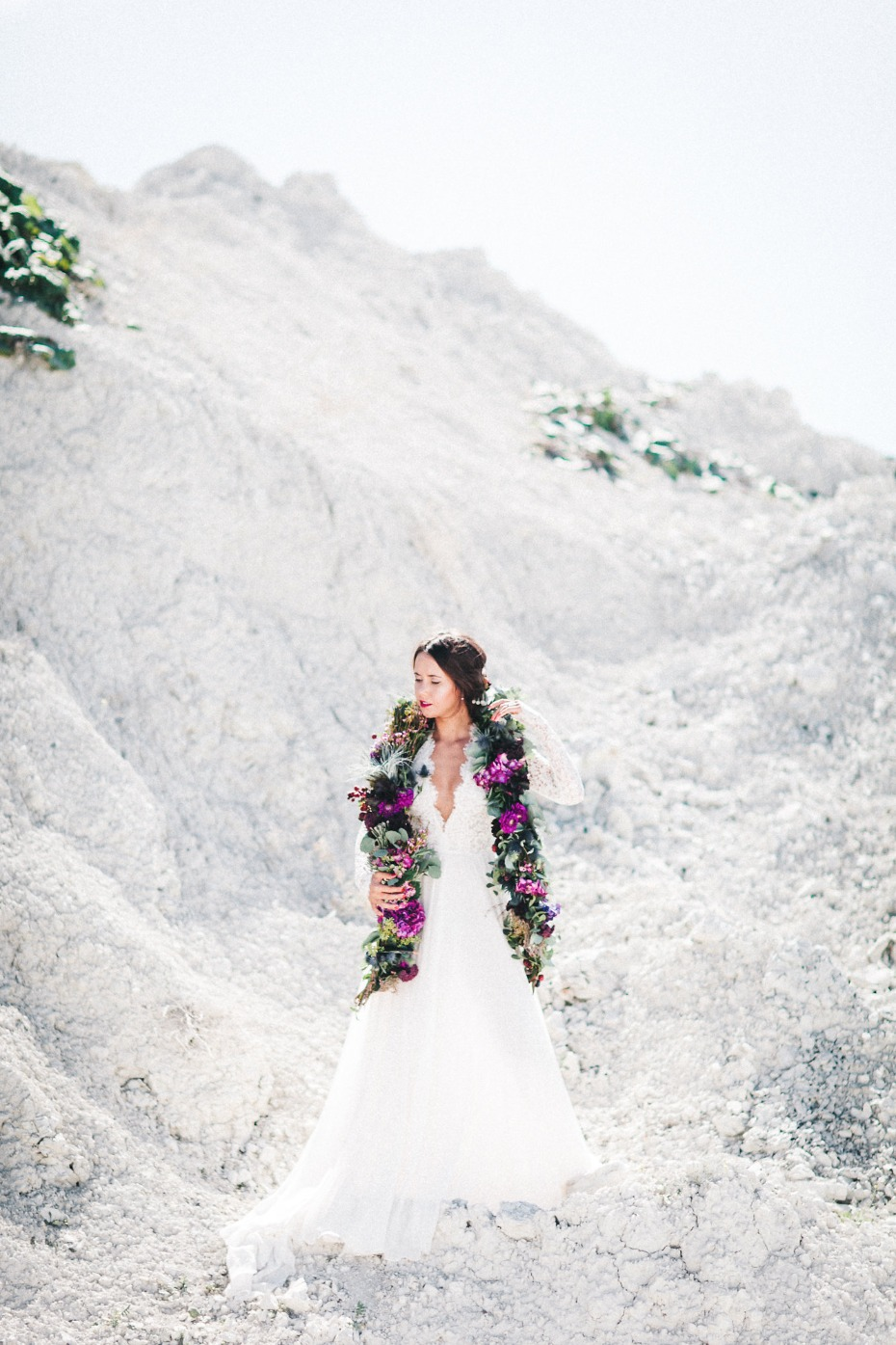 Berry beautiful stone quarry wedding inspiration