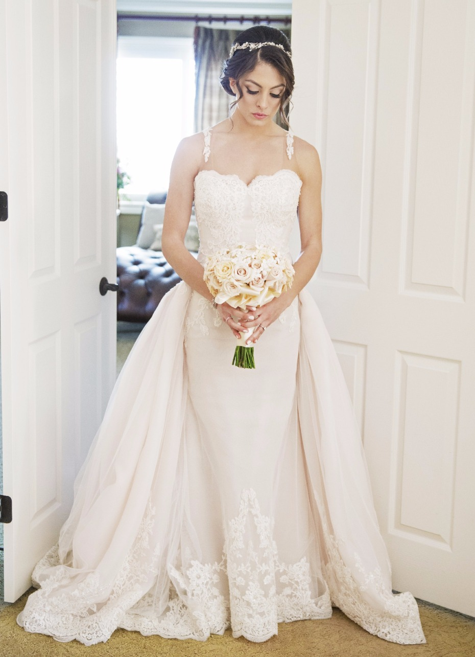 Detachable train's are trending! Find this gown on Still White today
