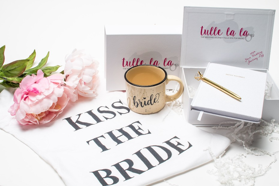 Bridal subscription box from Tulle La La