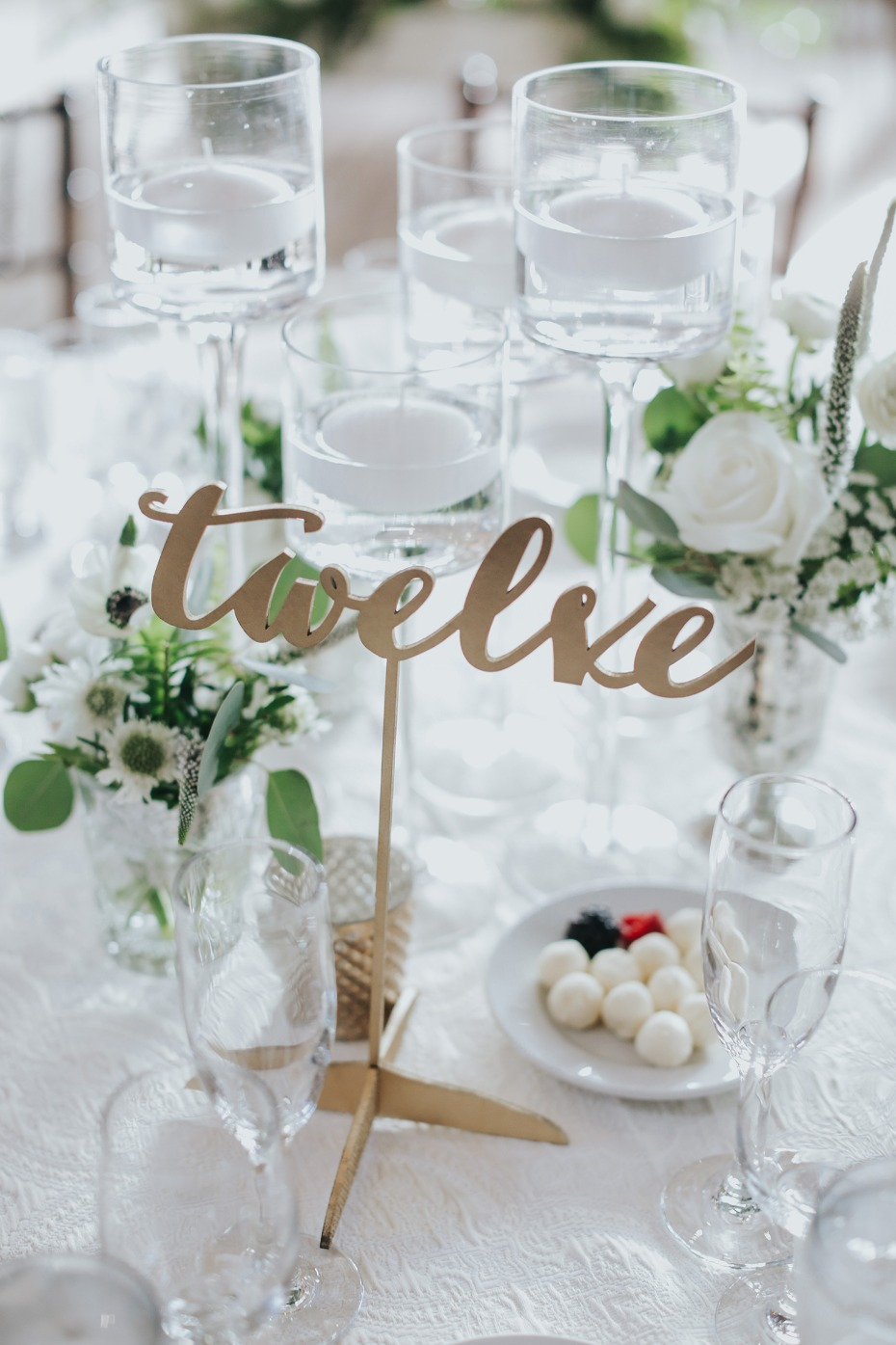 floating table numbers