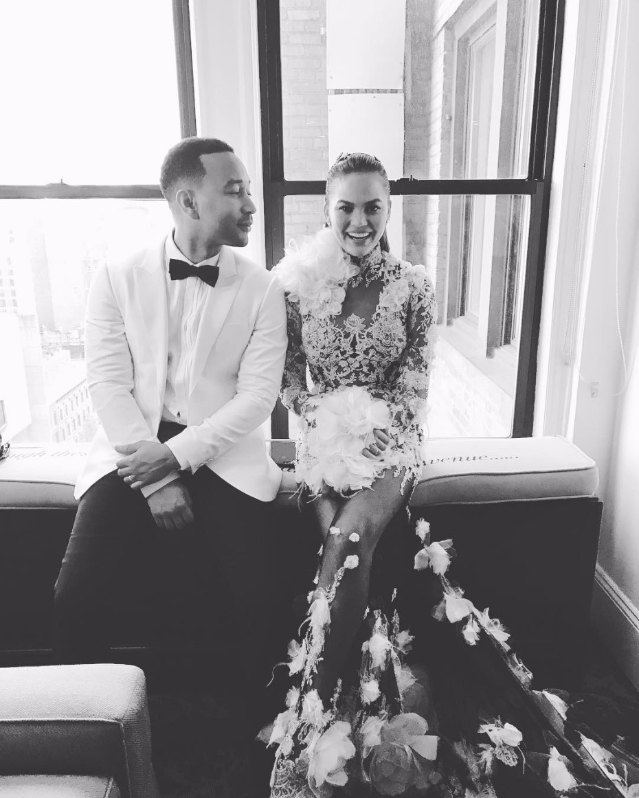 John Legend and Chrissy Teigen relationship goals.