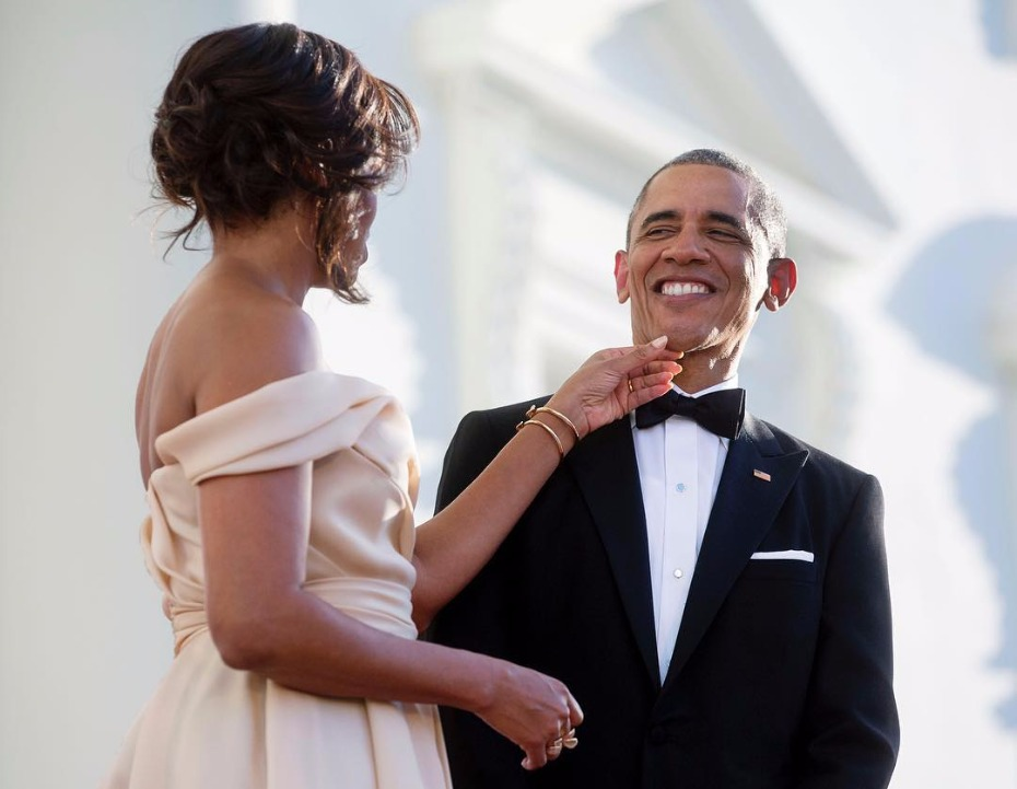 The Obamas relationship goals.