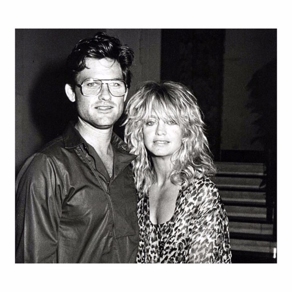 Goldie Hawn and Kurt Russel relationship goals.