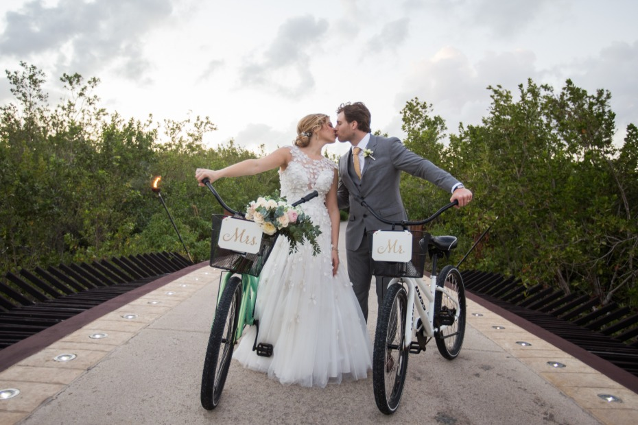 Mr and Mrs bikes