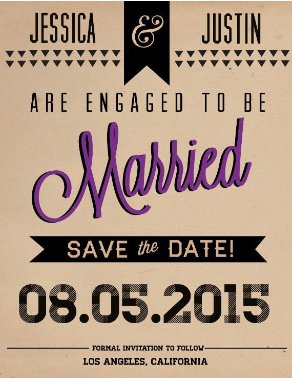 Print: Save the Date from Urban Scarlet