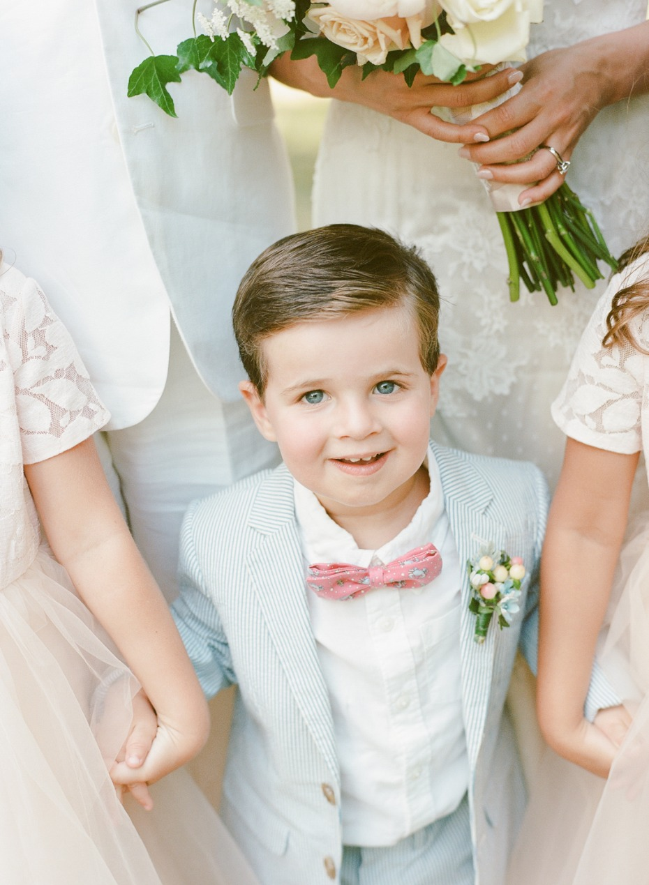 light blue ring bearer suit