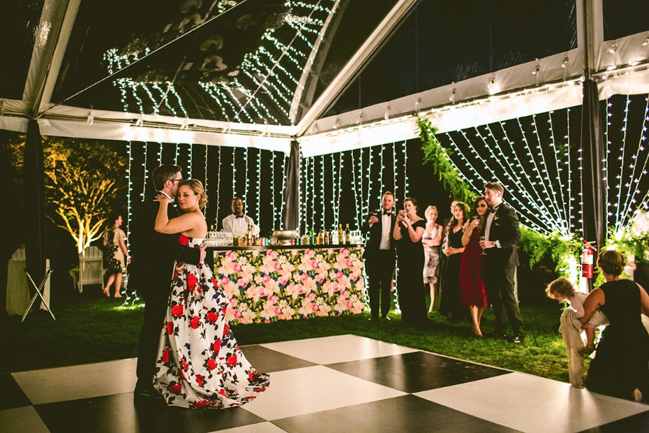 Gorgeous floral filled reception