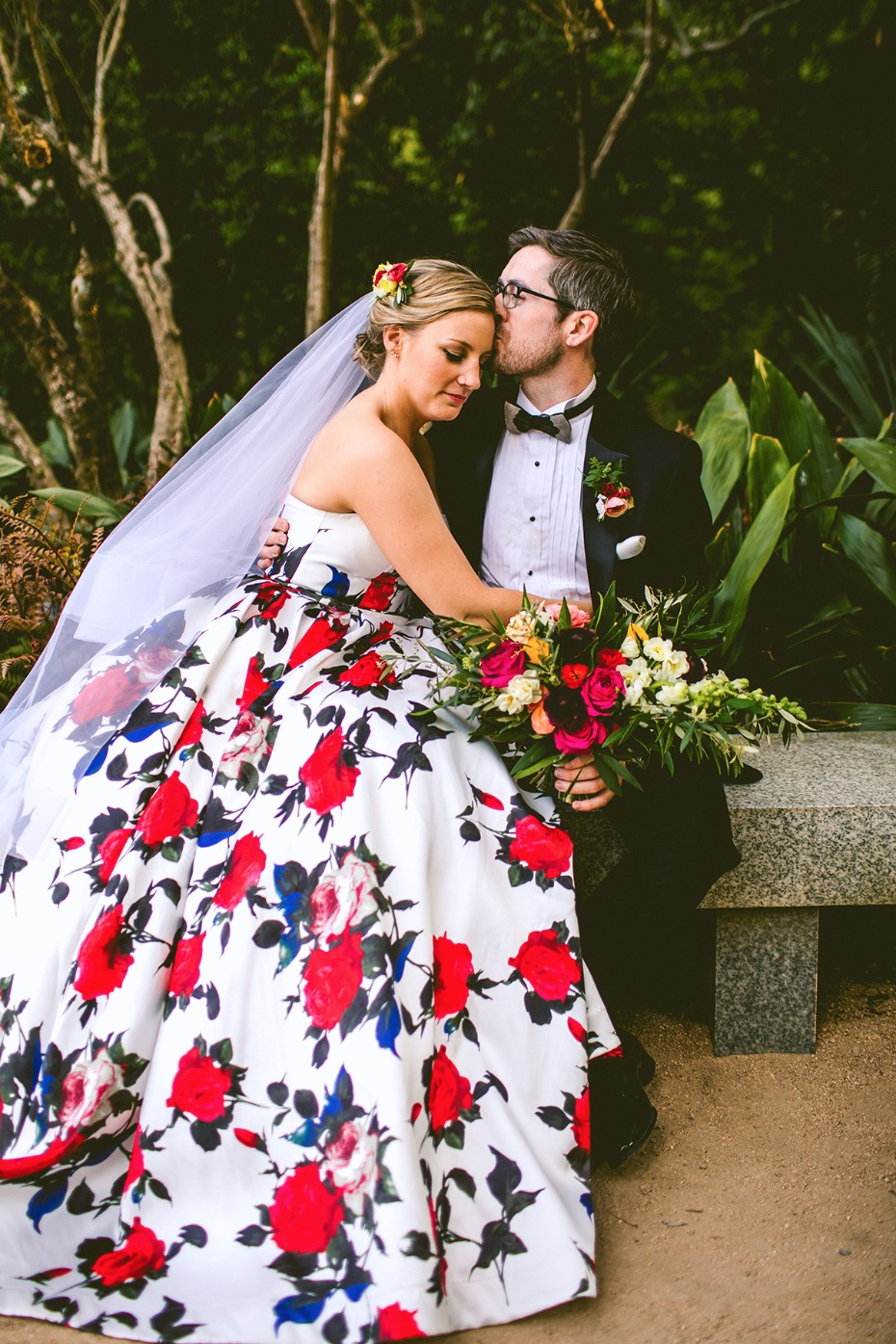 Beautiful modern Pantone colored wedding filled with Florals