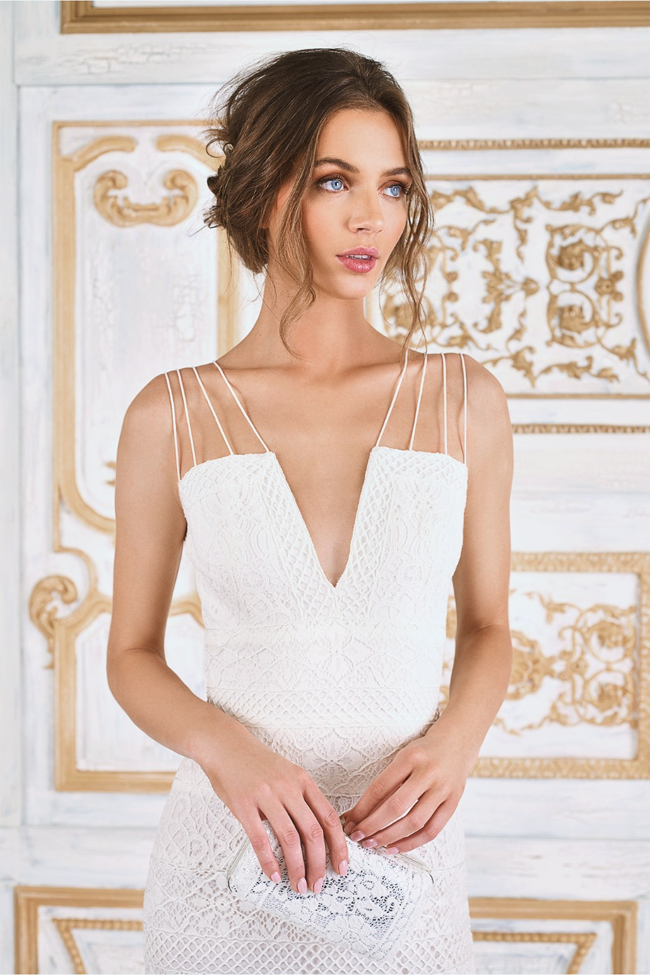 affordable modern sexy wedding dress