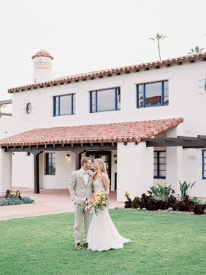 We're California Dreaming Over this Colorful Oceanfront Wedding