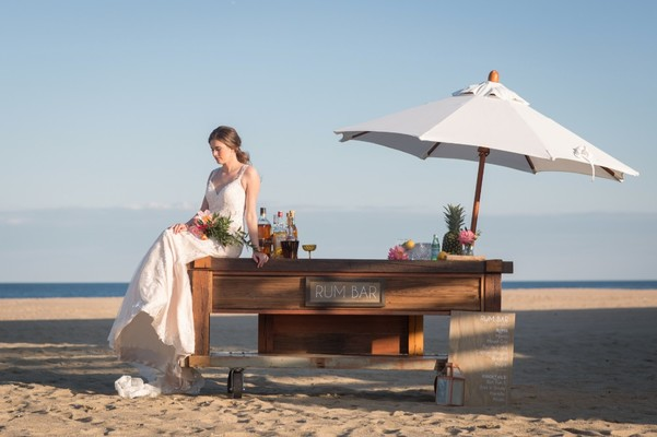 When Just One Look Won't Do For Your Modern Chic Beach Wedding