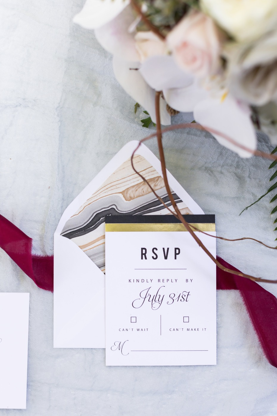 RSVP for your wedding