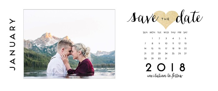 Print: Free Printable Photo Save The Dates