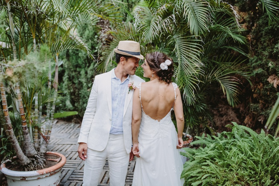 unique wedding style for the bride and groom