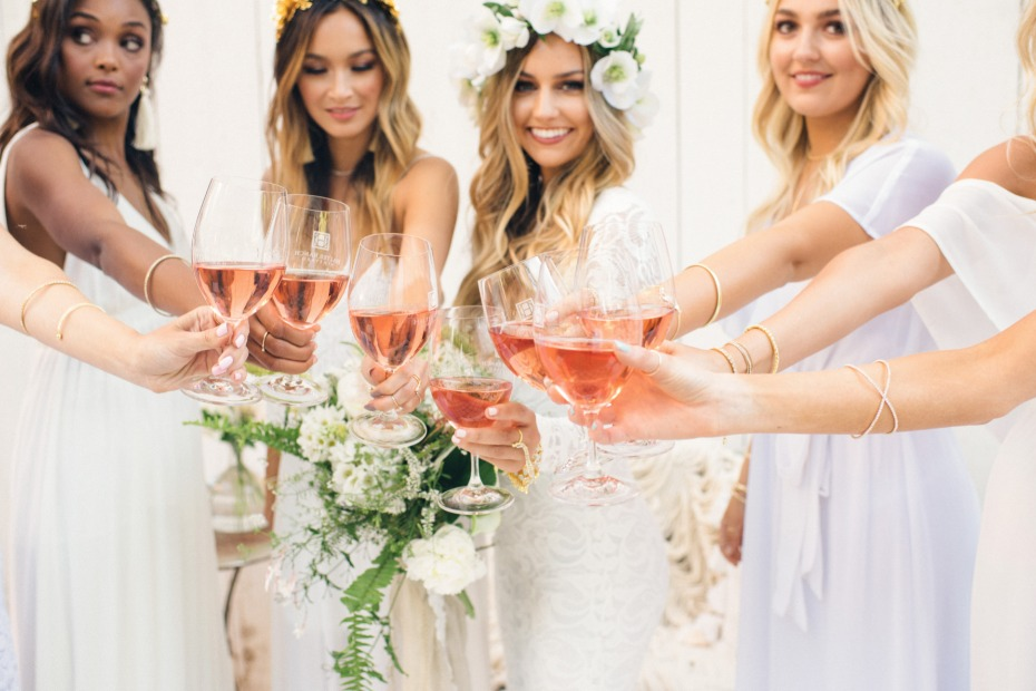 bridal shower ideas with rose