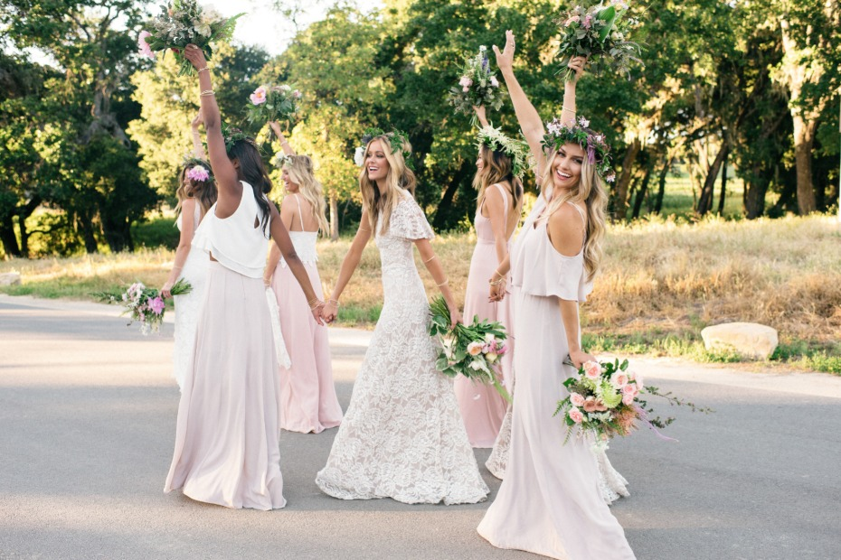 relaxed and fun bridesmaid dresses from Show Me Your Mumu