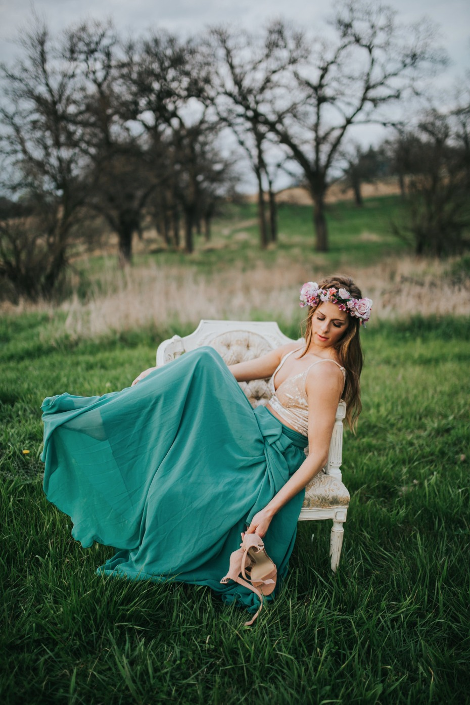 Beautiful look for the bride-to-be