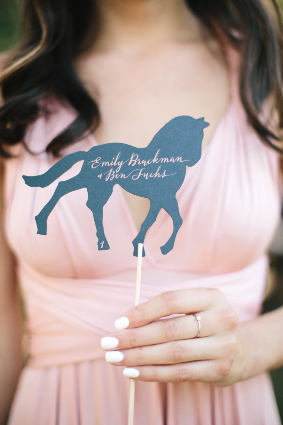 animal escort card