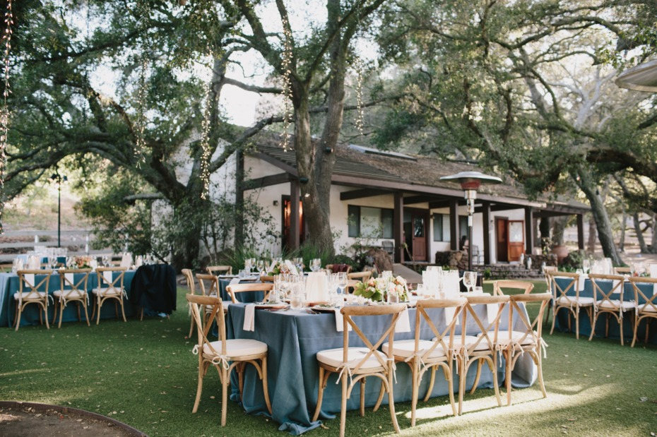 outdoor wedding tables for your wedding reception