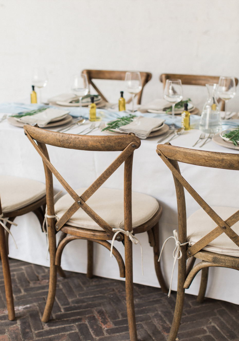 rustic inspired Italian wedding reception