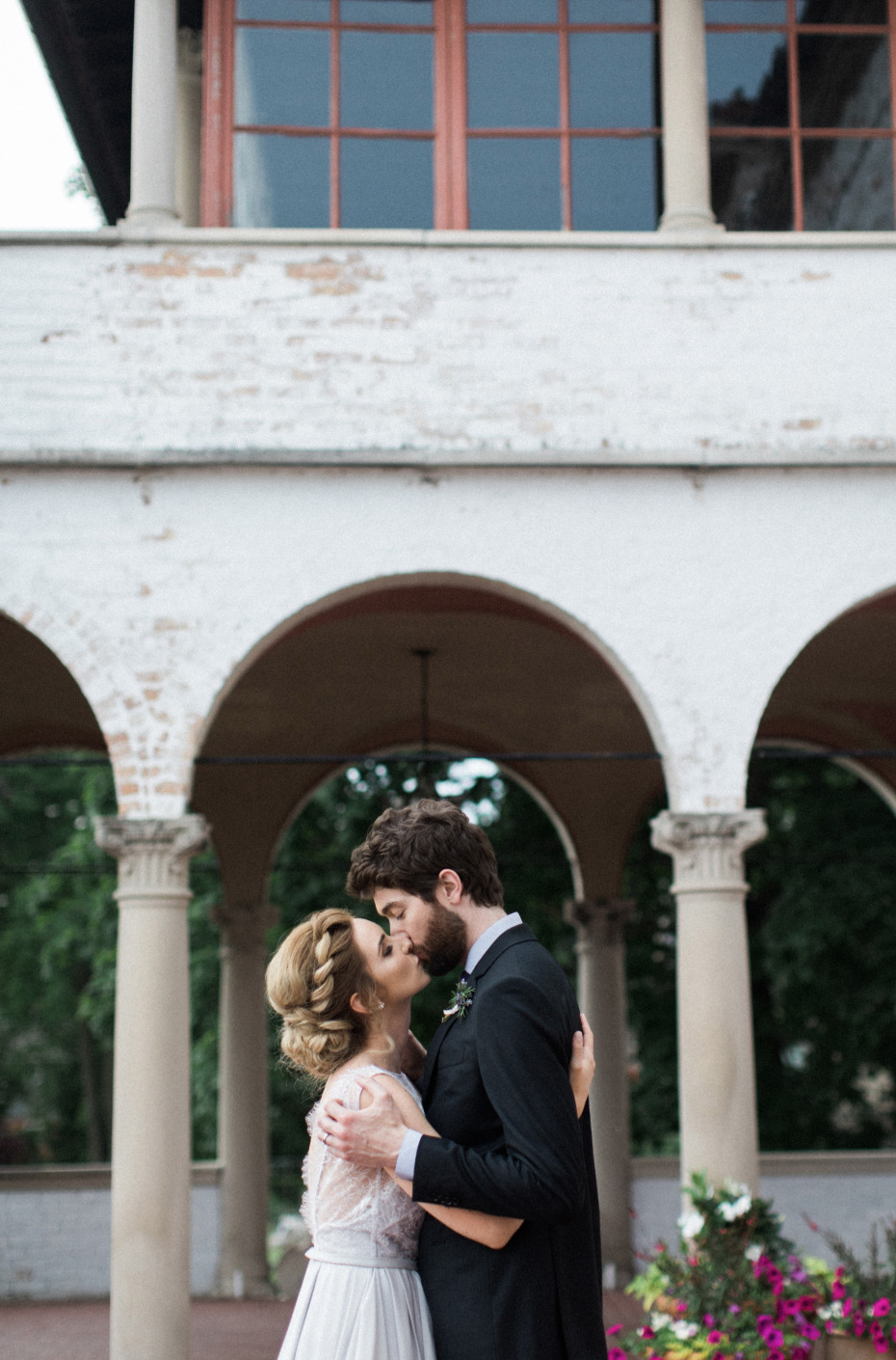 Italian villa inspired wedding venue