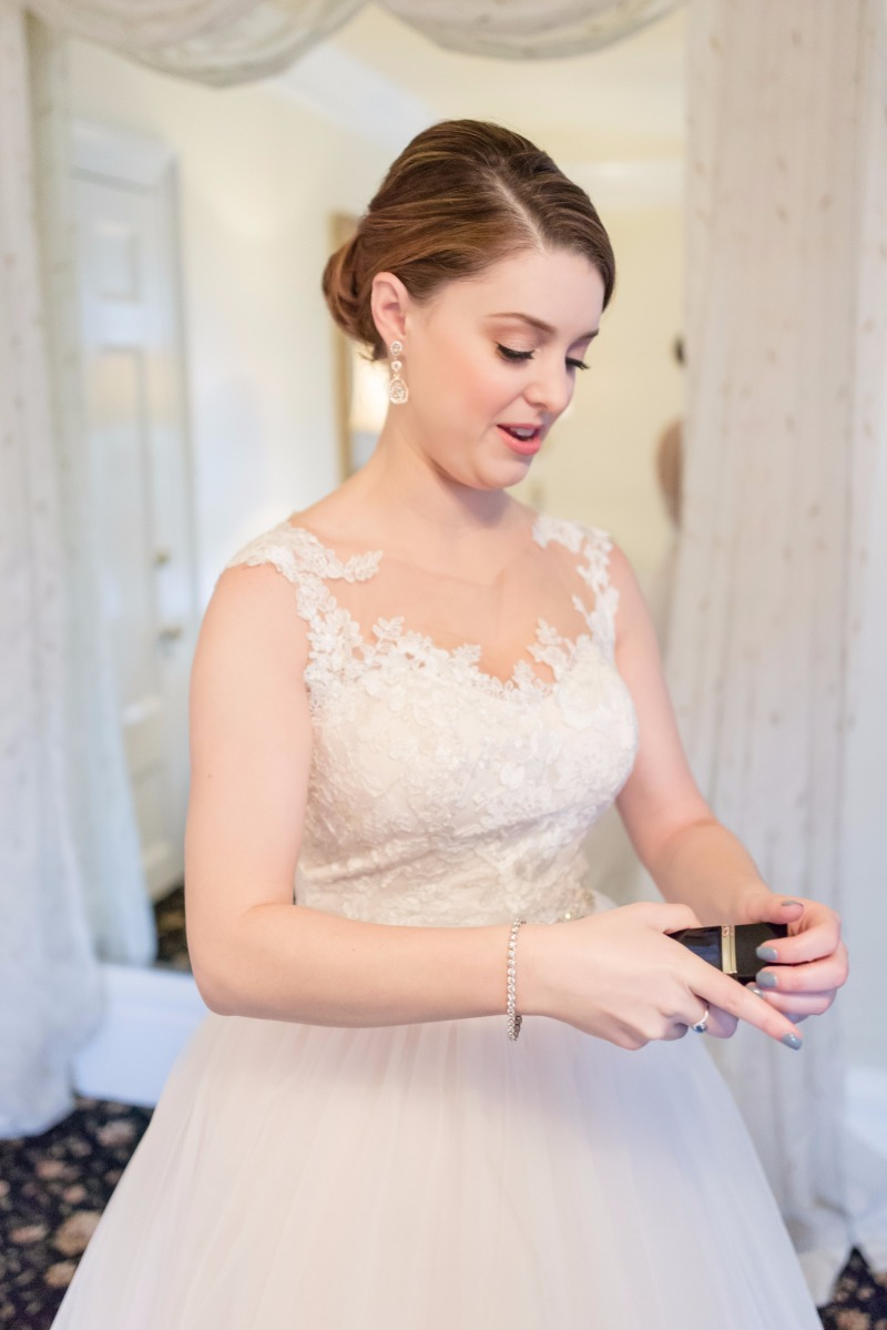 Classic bridal beauty with a stylish bun, nude lip and perfectly flawless skin.