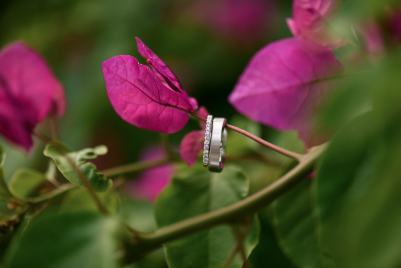 Ring Bling. Capture by Phosart from real destination wedding in Santorini Greece