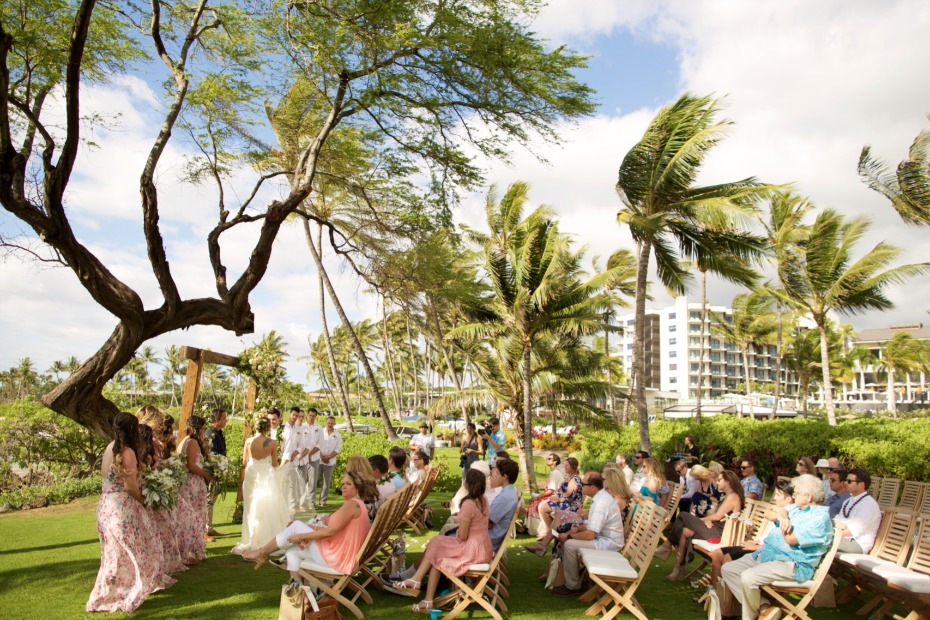 Gorgeous wedding in Maui