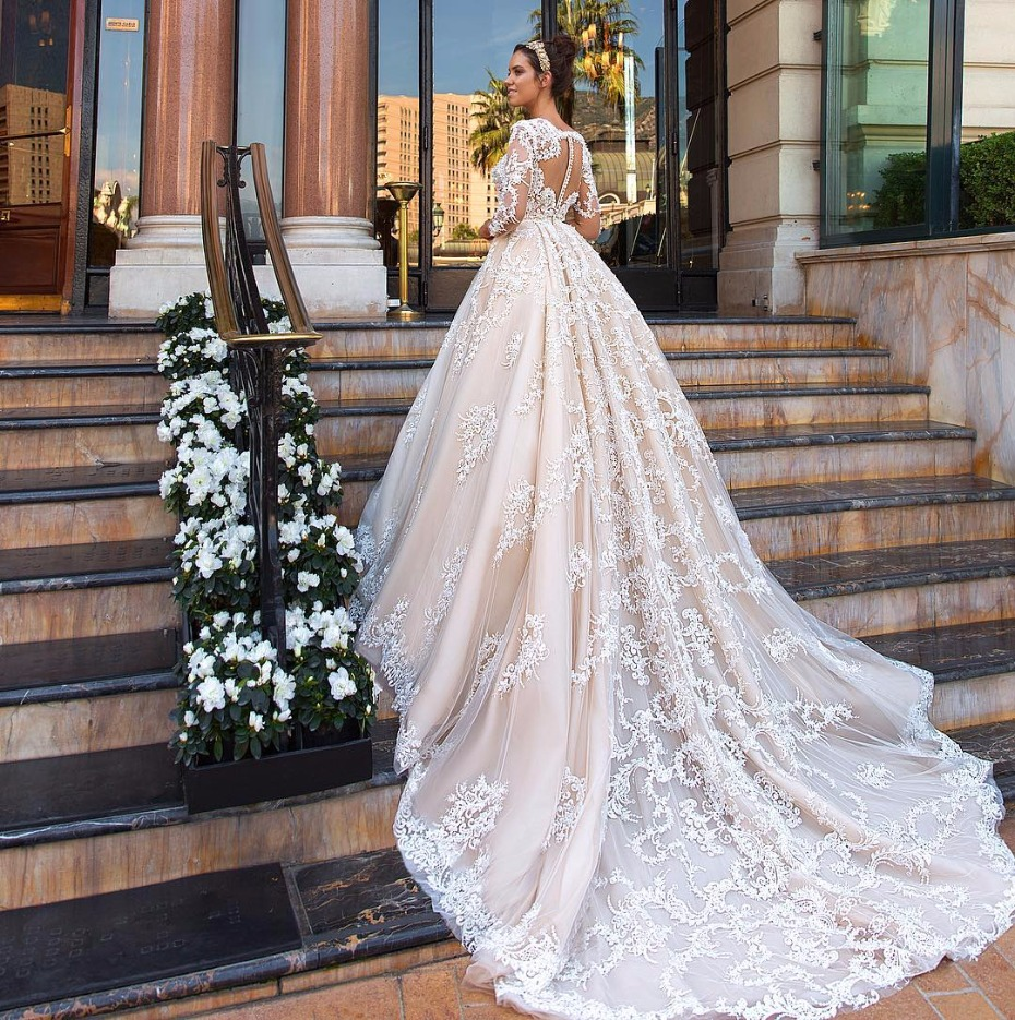 The Chantale ball gown by Crystal Desing