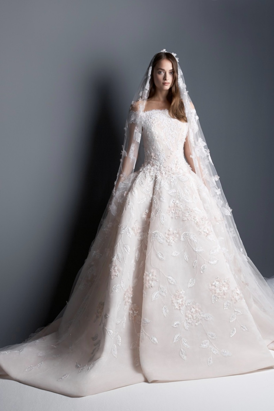 Georges Hobeika couture wedding gown